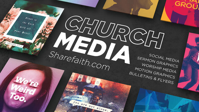 Church Media Title Slide