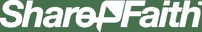 Sharefaith Logo WHITE